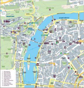 Prag Karte Sehenswurdigkeiten.Prag Reiselustige Un Ruhestandler